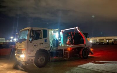 The Junk Truck at night